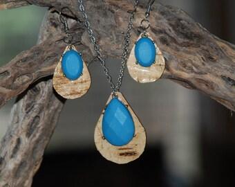 Birch Bark Jewelry