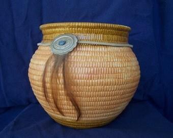 Ceramic Basket pottery