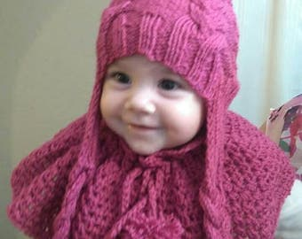 Cap and shawl for kids and adult. Various size and color.
