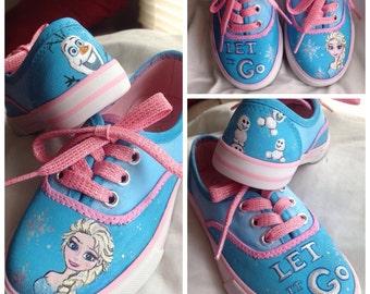 Itty-Bitties, Custom painted kid's shoes