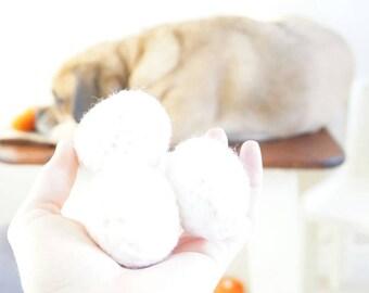 Crochet carton of eggs