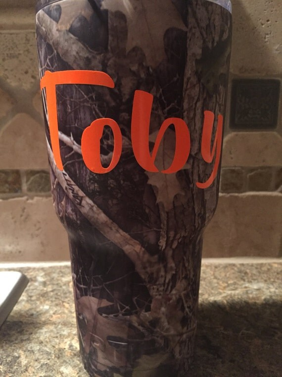 Custom Vinyl Letters For Yeti Style Cups Laptops Phone Cases - Vinyl letters for cups