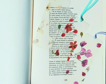 Unique Bookmark Set of 3 bookmarks Floral Bookmark Botanical Bookmark Book Accessory Unique Gift Gift for readers Gift for her Bookworm