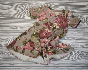 Baby Dress - Swing Dress - Girl's Dress - Baby Swing Dress - Toddler Dress - Floral dress - Boho Dress - Children's Dress - Tee Dress