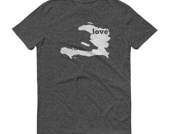 Haiti, Haitian Clothing, Haiti Shirt, Haitian Dress, Haiti T Shirt, Haitian TShirt, Haiti Map, Haitian Gifts, Made in Haiti, Love Shirt