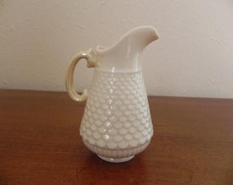 Vintage Irish Porcelain Belleck Creamer Very Sweet and Cute