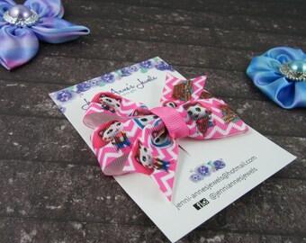 Pinwheel Hair Bow Clip - Sheriff Callie