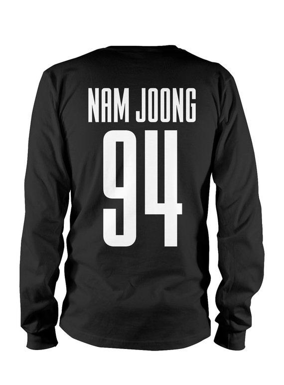 BTS Nam Joon 94 - Longsleeve Shirt Unisex