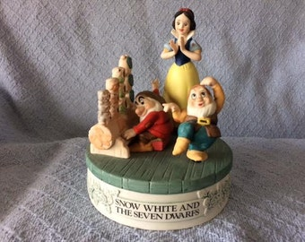 Snow White and the Seven Dwarfs music box