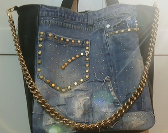Second Hand Jeans Bag