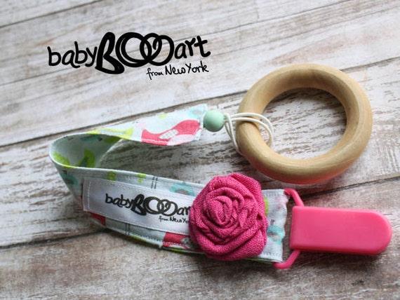 Pacifier Clip | binky clip | girl pacifier clip |
