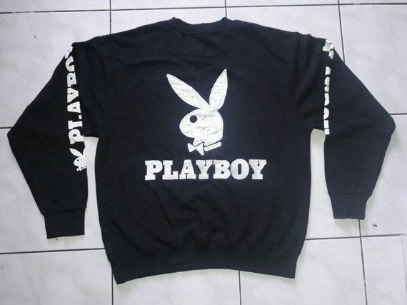 Sale! Rare Vintage Playboy embroidered Big Logo sweatshirt