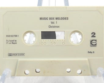Vintage Christmas Music Box Melodies on Cassette