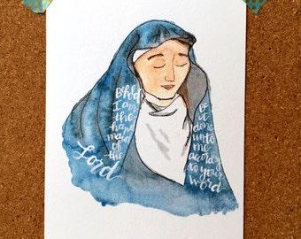 Mary Fiat Print