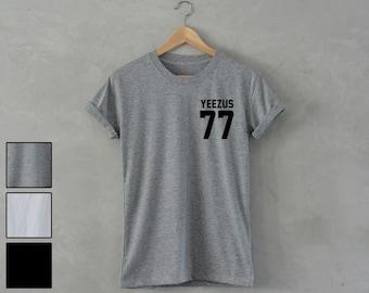 YEEZUS Shirt yeezus 77 shirt yeezus T-Shirt music concert shirt kanye west t-shirt hip hop rap unisex S M L XL