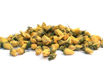 Yellow Rose Buds , Dried , Best Quality, Natural and Biodegradable