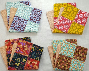 Cotton Calico Doll Quilt