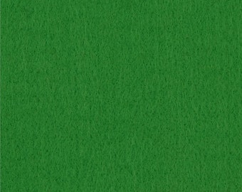 Apple Green Craft Felt Fabric - Kunin Felt - Green Crafting Felt