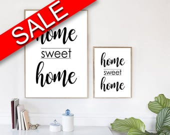 Home Sweet Home Wall Art home wall art | etsy