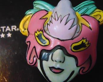 Mardi Graus Mask trinket box