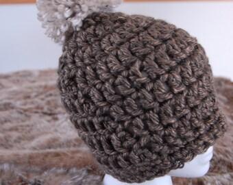 Copper Crochet Hat