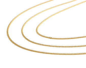 New stylish design Metal stripes necklace
