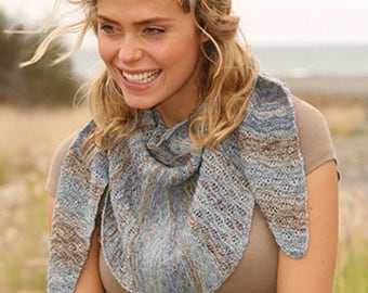 summer scarf in beautiful shades