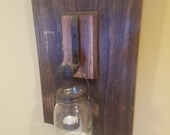 Railroad Spike Candle Holder