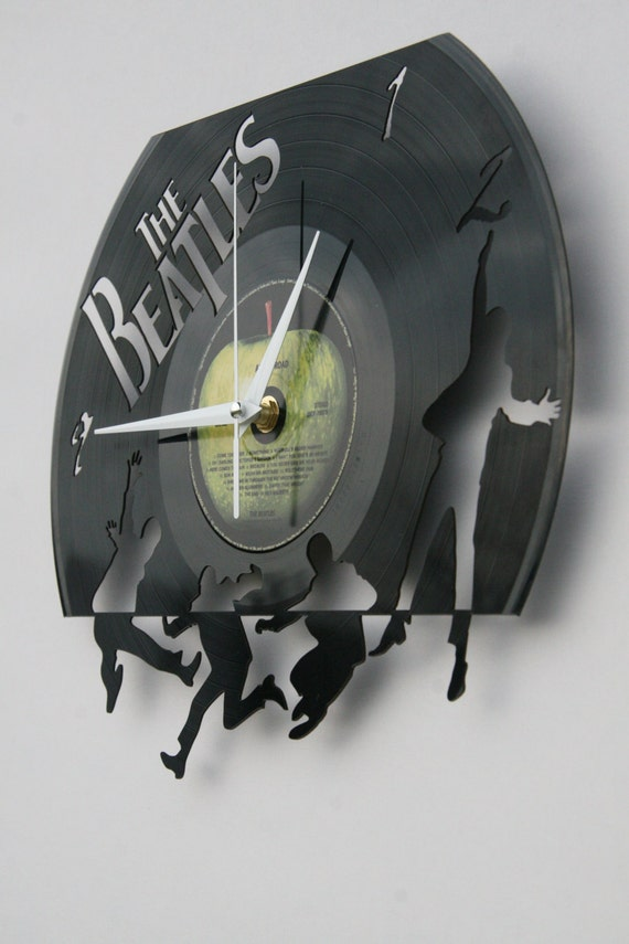 The Beatles Vinyl Record Wall Clock Ideal For Home Decor Unique Gift Present And