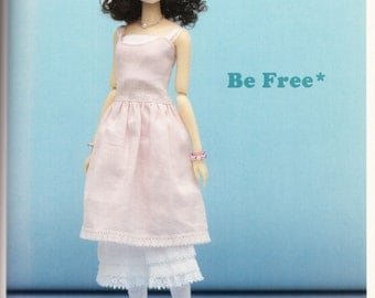 Momoko Doll E Pattern Japanese PDF Dress Skirt Leggings Top
