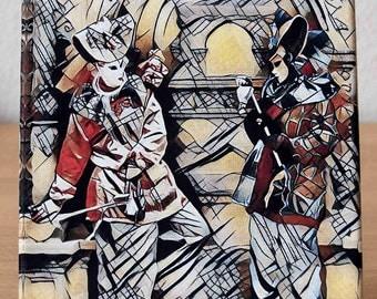 Canvas Carnival Venetian masks