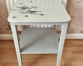 Up-cycled Decoupage Table