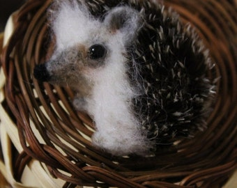 Brooch Hedgehog