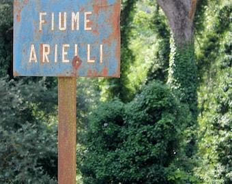 Fiume Arielli - Arielli, Italy