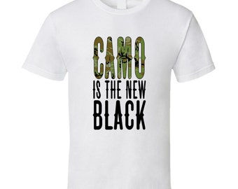 Camo Is The New Black Tshirt