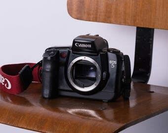 CANON EOS 5 QD quartz date 35mm slr film camera good condition
