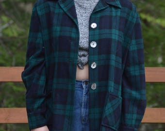 Vintage Pendleton Plaid '49er Jacket