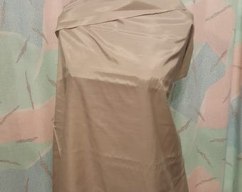 Fine Lining fabric/ Solid beige/ neutral by the yard