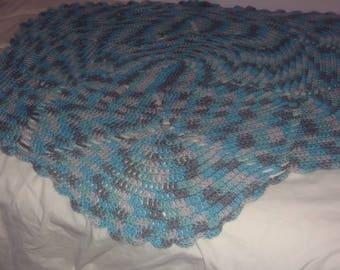 Afghan baby blanket