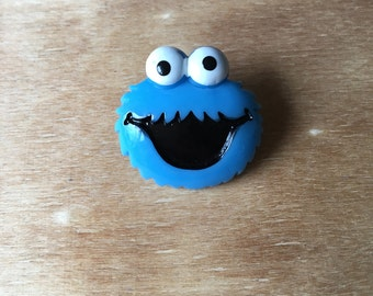 Cookie Monster Badge/Brooch