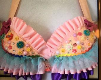 Flower Fairy Custom Bra Top