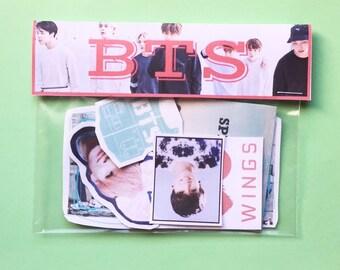 BTS - sticker pack