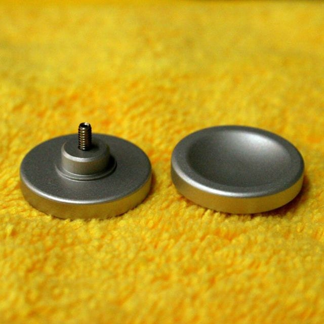 EDC Aluminum Fidget Toy Thumb Button for 608 bearing