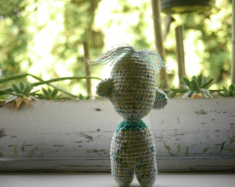 Crochet Cotton Doll-  Handmade- One of a Kind- Amigurumi