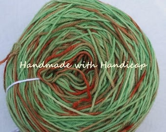 Hand-dyed sock yarn 75/25 100 g