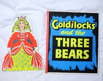 Vintage Goldilocks & the Three Bears Magic Trick by Supreme Magic (Bideford) c1960s - Conjuring