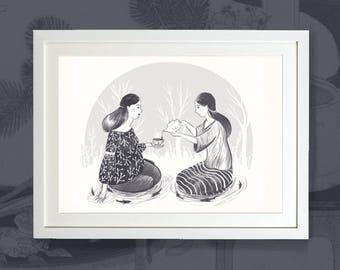 Tea - Art Print