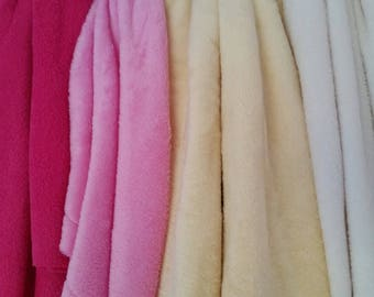 Supersoft cuddle fleece fabric