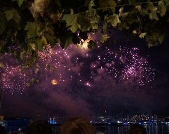 Geneva Lake Festival Fireworks
