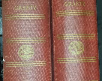 History of the Jews by Heinrich Graetz 1895-1984 Volume III & V